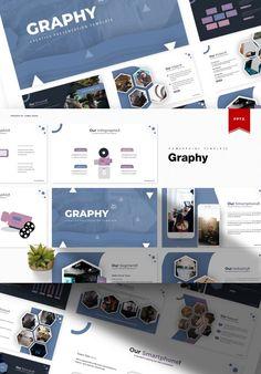 Creative Presentation Ideas, Brand Presentation, Business Presentation, Presentation Templates, Powerpoint Themes, Business Powerpoint Templates, Infographic Templates, Slide Design, Web Design