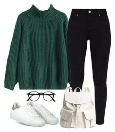"""#247"" by mintgreenb on Polyvore featuring Ted Baker and H&M"