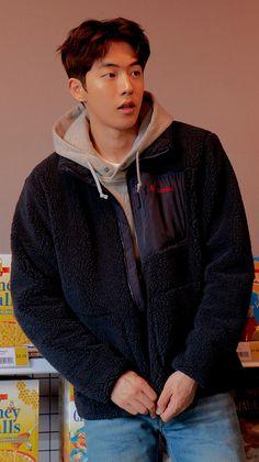 "Columbia Korea - 2019 F/W ""Fall in Fleece"" Collection Nam Joo Hyuk Tumblr, Kim Joo Hyuk, Nam Joo Hyuk Cute, Jong Hyuk, Cute Korean Boys, Korean Men, Asian Men, Weightlifting Fairy Kim Bok Joo Wallpapers, Nam Joo Hyuk Wallpaper"