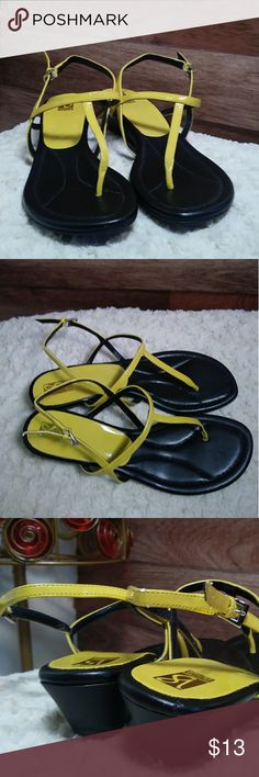 *Bright and fun Victoria Spenser 8.5 sandals* Brand new Victoria Spenser size 8.5 sandals. Never worn. There is minor scuffing on back on right shoe from storage. It is pictured. Shop with confidence....I'm a Posh Ambassador 👍 victoria spenser Shoes Sandals