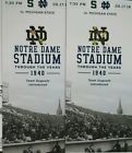 Ticket  2 Tickets together! Notre Dame Fighting Irish Michigan State MSU Football Sec 36 #deals_us