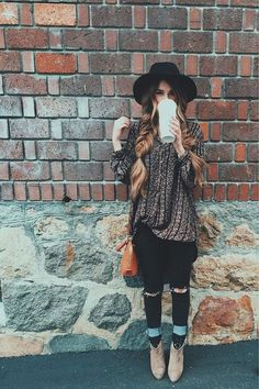 Seaofgirasoles: Fashion: Modern boho girls