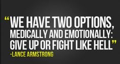 Fight! It isn't over yet, so don't act like it. Give those around you the strength to keep going, show them you still got it in you!