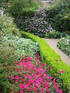 Photo about English Garden Walking Path. Image of english, horsham, path - 116259 Garden Paths, Garden Landscaping, Landscaping Ideas, Garden Stones, Pergola, Victorian Gardens, Walking, Dream Garden, Pink Garden