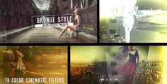 Grunge Film Style (Grunge) #Envato #Videohive #aftereffects