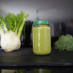 Purée de brocoli et fenouil
