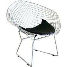 Buy Baxton Bertoia Style Diamond Wire Chair 8300 from National Furniture Supply at lowest price and great service. Modern Furniture Online, Affordable Modern Furniture, Mid Century Modern Furniture, Furniture Websites, Small Furniture, Office Furniture, Furniture Design, Wire Chair, Glider Chair