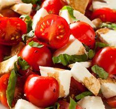 Recept Caprese salát Top 5, Caprese Salad, Mozzarella, Insalata Caprese