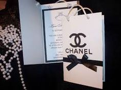 Chanel Style Wedding Invitations Google Search