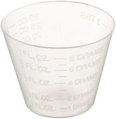 Delta Education Medicine Measuring Cup, 1 Oz Capacity, Clear (Pack Of 30), 2015 Amazon Top Rated Measurement Kits #BISS