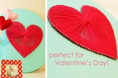 Are you looking for an easy and creative valentine day craft this holiday season? We have a complete tutorial on making valentine day string art.