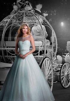 Disney Fairy Tale Weddings by Alfred Angelo 244 Wedding Dress - The Knot