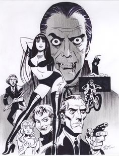 Bruce Timm, Comic Book Artists, Comic Artist, Comic Books Art, Batman, Superman, Black And White Artwork, Classic Comics, Comic Styles