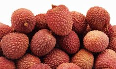 Lychee. a southeast asian fruit