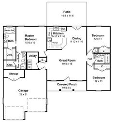 HPG-1427-1 Floor Plans Image
