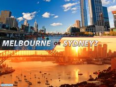 Melbourne and Sydney are two modern cities in Australia which are also top residential choices for migrants. Melbourne, the capital of Victoria, offers the world's different cultures, while Sydney, the capital of New South Wales, invites with its mix of historical and contemporary vibe.  Where do you want to live: Melbourne or Sydney?  #Melbourne #Sydney