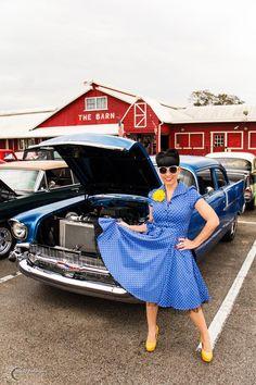 1957 Chevy & Scarlette S.