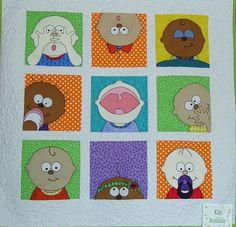 Amy Bradley Quilts | Amy Bradley Peek A Boo Baby Quilt Kit