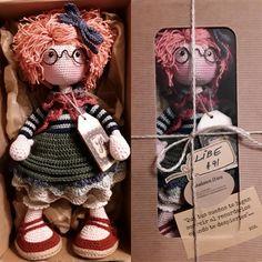katxirula Crochet Doll Clothes, Crochet Baby Shoes, Crochet Dolls, Crochet Toys Patterns, Stuffed Toys Patterns, Doll Tutorial, Amigurumi Toys, Handmade Toys, Crochet Projects