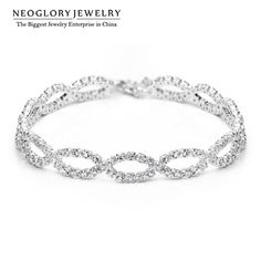 Jewelry Brand Engagement Beads Bangles & Bracelets Wedding Bridal Bridesmaid Charm Birthday Gifts  New Wedj-b P1