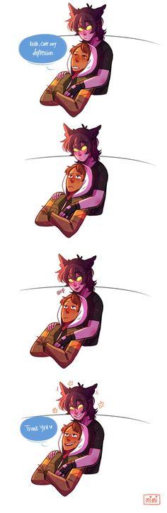 a happy kitty :3
