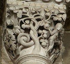 Adam and Eve Vezelay