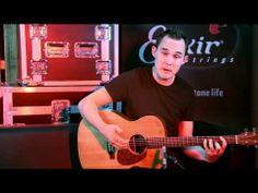 ▶ Chris Woods - Starting Percussive Acoustic Guitar Pt.1 - YouTube