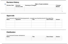 Exception Report Template Download For Project Management Plan