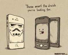 @cristinaac1 These aren't the droids you're looking for...