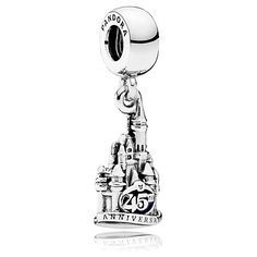 Cinderella Castle Magic Kingdom 45th Anniversary Charm by PANDORA