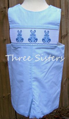 Three Sisters Easter Bunny Shortall-