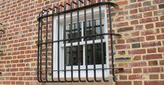 window bars in apartment Window Security Bars, Window Bars, Nest Design, Skate Park, Door Signs, Prison, Blinds, Outdoor Structures, Windows