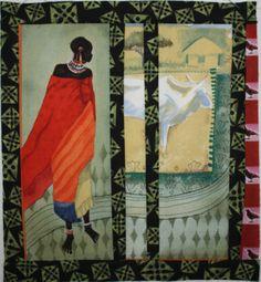 "African Quilt Block  "" threadtogether"""