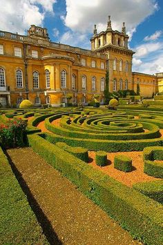 Blenheim Palace ~ Oxfordshire, England, The birthplace of Winston Churchill. Also, where Hamlet, Harry Potter and the Order of Phoenix, and The Avengers were filmed.