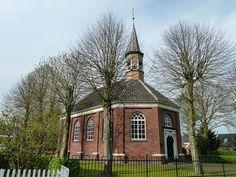 Onderdendam, Hervormde Kerk uit 1840.