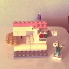 """I made a Lego sewing machine!"" by becksorange, via Flickr"