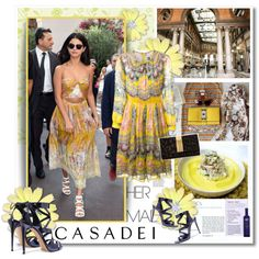 CASADEI by undici on Polyvore featuring moda, MSGM, Casadei, Just Cavalli, SANDERSON and modern