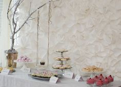 """Secret Garden""-themed baby shower - so whimsical! #babyshower #sweetstable"