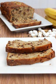 S'mores Banana Bread.