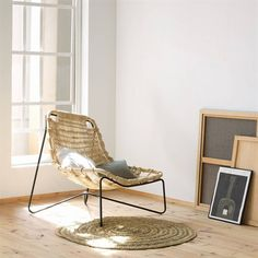 Tina Chair The Tina armchair is surprisingly lightweight and organic in form; its comfortable and natural weave is the result of our careful analysis of the qualities and characteristics of its raw materials.