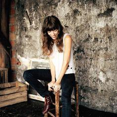 Lou Doillon Lou Doillon, Charlotte Gainsbourg, Serge Gainsbourg, Patti Smith, Jane Birkin, All Things Fabulous, Erin Wasson, People Art, Style Icons