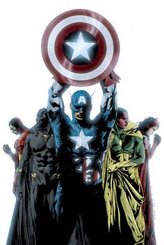 Captain America and Avengers by Jae Lee