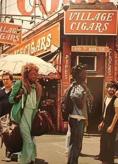 New York City 1970's Greenwich Village by Photoscream, via Flickr.