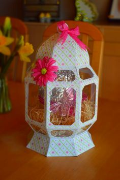 Egg shaped gift box designed by svgcuts look what i made easter egg display box designed by sp design negle Images