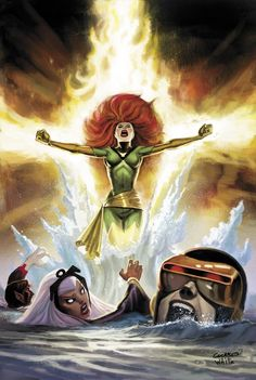 Uncanny X-Men (homage to Uncanny X-Men #101) by Dean White and Dave Cockrum