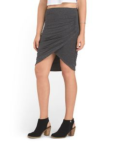 image of Juniors Double Layer Skirt
