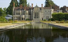 Rhinefield House Hotel, in the New Forest, Hampshire - a blend of Tudor and Gothic architecture