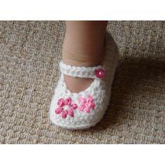 (PDF PATTERN) Lazy Daisy Girl's Shoes