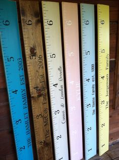 Growth Chart      Ruler Wooden Oversized Vintage Feel Distressed Charming Wall Hanging on Etsy, $49.95