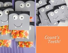 Count's Teeth-so cute for halloween